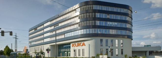 Werksführung bei KUKA