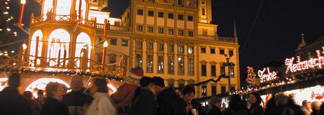 Besuch des Augsburger Christkindlmarktes