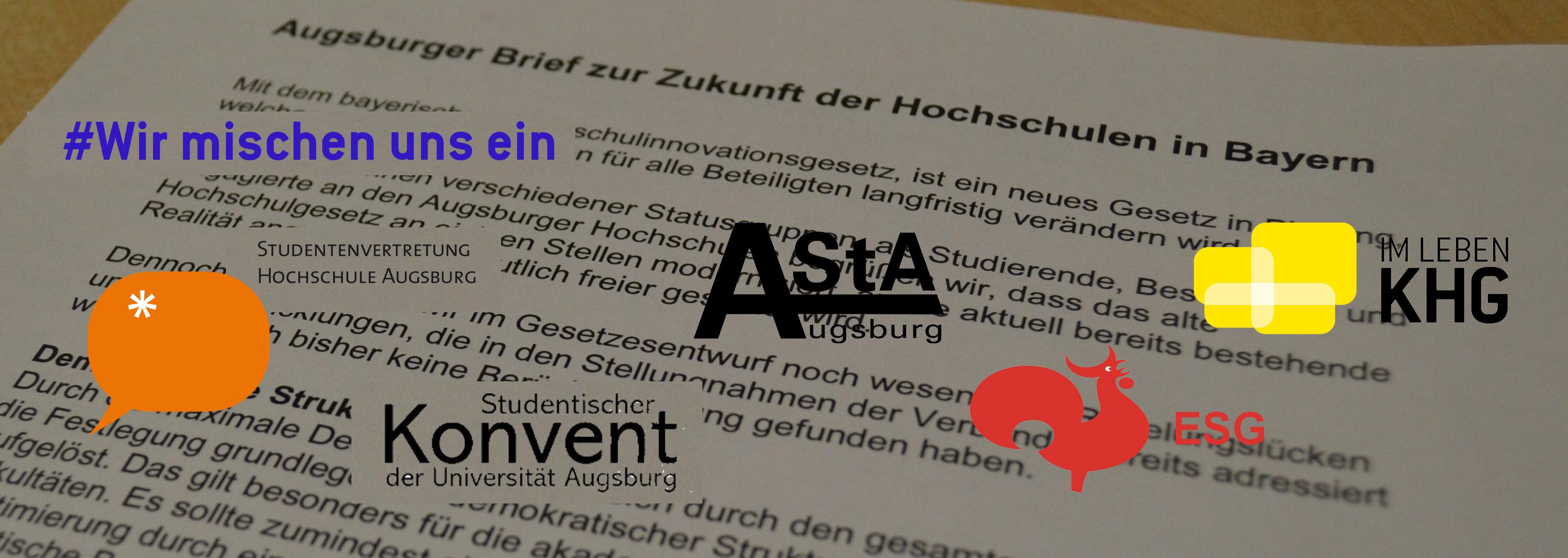 Augsburger Brief zur Zukunft der Hochschulen in Bayern