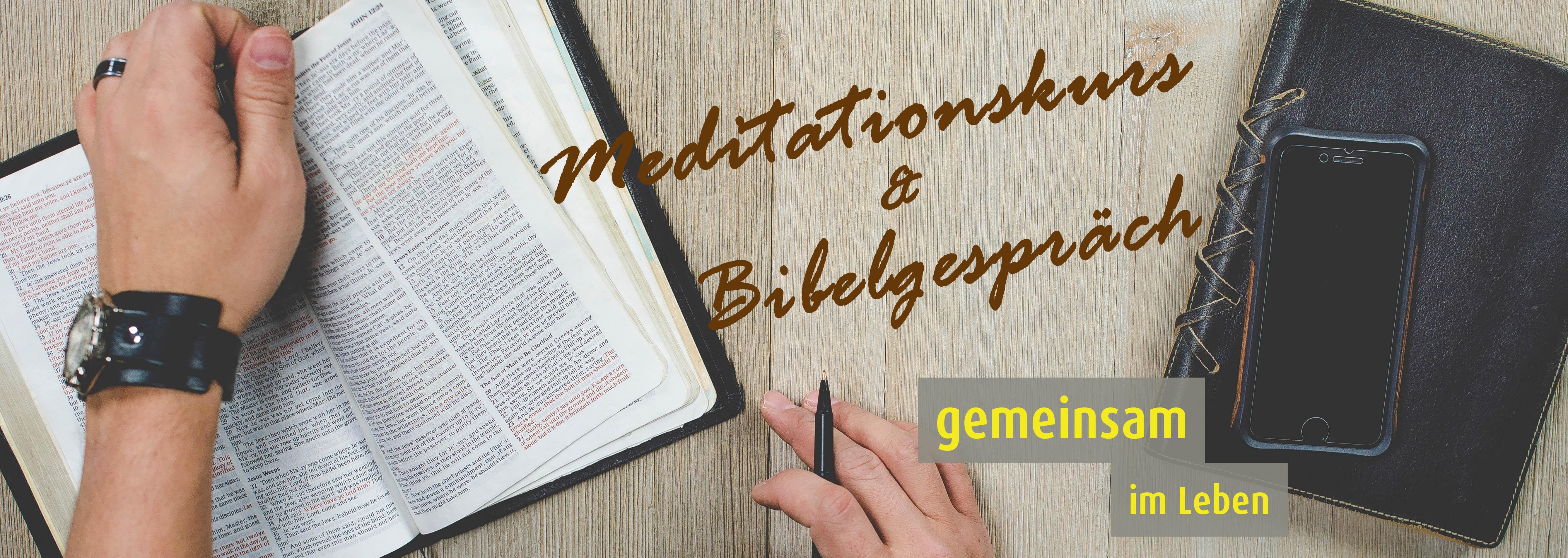 Bibelgespräch & Meditationskurs online